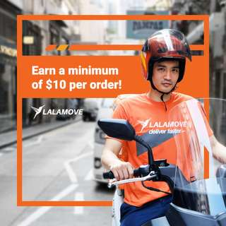 Delivery Rider Job | Lalamove | Earn up to $21 / delivery