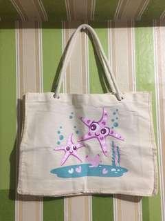 Cotton Canvass Beach Bag