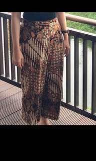 Celana kulot batik
