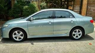 2011 Toyota Corolla Altis V 1.6L