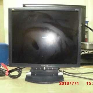 ViewSonic VE710b 17吋螢幕 電腦螢幕VGA (可當監視器螢幕)