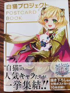 白貓-POSTCARD BOOK