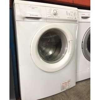 Automatic Refurbish Washing Machine Electrolux 6.5kg Mesin Basuh Recondition Front Load