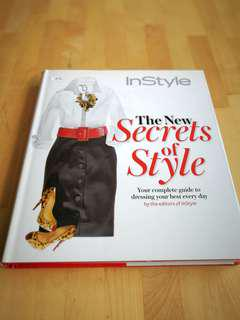 Fashion style hardcover book