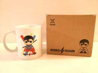 NEW PIXMA Heroes Superman Coffee Mug - in perfect condition with box