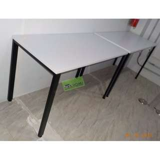 CUSTOMIZED TABLE METAL LEGS 120W X 60D X 75H cm-KHOMI