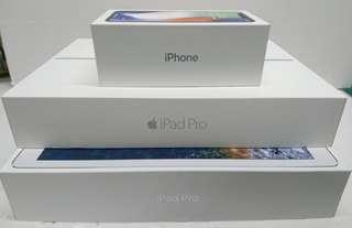 iphone , ipad pro 3個盒