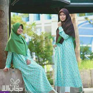 Gamis cerri toska hijab alila