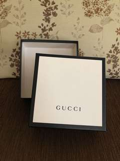 Authentic Gucci Box