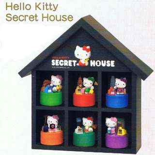 2006 Hello Kitty & MTR Secret House Stamps Collection (吉蒂港鐵珍藏印章)