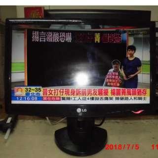 LG 19吋寬液晶顯示器 W1943SS-PF 電腦螢幕VGA (可當監視器螢幕)