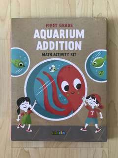 FlashKids First Grade Aquarium Addition Math Activity Kit