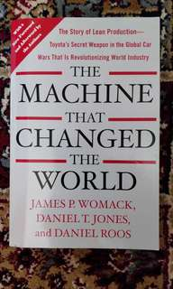 The Machine that Changed the World - James Womack, Daniel Jones, Daniel Roos