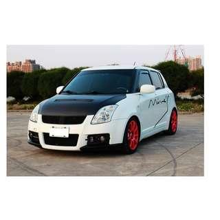 2005年 鈴木 SWIFT 白 ✅0頭款 ✅免保人✅低利率✅低月付 FB搜尋:阿源 嚴選二手車/中古車買賣