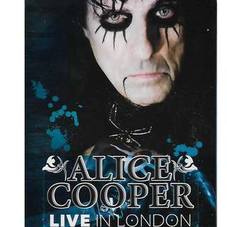 Alice Cooper Live In London DVD