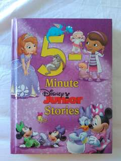 Preloved Hard Cover Book Disney Junior Stories
