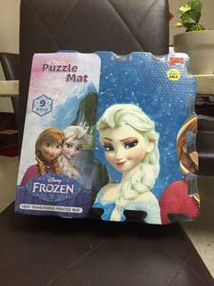 Disney Frozen Puzzle Mat baby crawling gym play mat