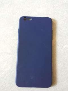 Apple iPhone 6 Plus 全包深藍色手機殻