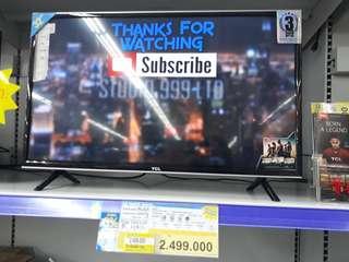 "TCL LED TV 32"" Cicilan Tanpa CC Tanpa Bunga Proses 3mnt Cairrr Dan Free 1x Angsuran"