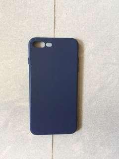 全新爵士藍色Apple iPhone 8 Plus 全包手機殻
