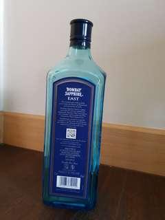 Empty Bottle Bombay Sapphire