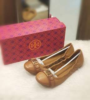 UNUSER TORY BURCH FLATS S9 ❤️BIG SALE P8995 ONLY❤️ With box Swipe for detailed pics
