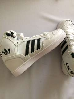 Adidas high-cut shoes