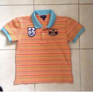 Polo Shirt for 5-7yo depends. No flaw and very good condition.
