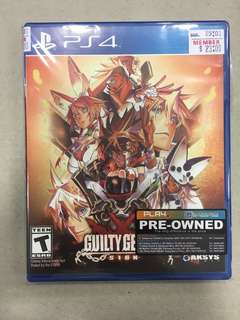 Playstation Guilty Gear XRD (Used)
