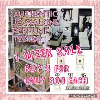 SALE AUTHENTIC Jo Malone Perfume Tester