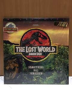 JURASSIC PARK  THE LOST WORLD 侏羅紀公園失落的世界 LD 雷射影碟 裝置藝術 造型背景