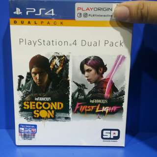 PS4 Dual Pack Infamous second son/first light