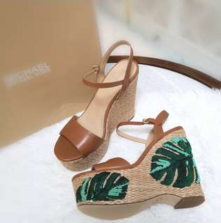 BRAND NEW MK FISHER WEDGE size 9 ❤️BIG SALE P9800 ONLY❤️ With box Swipe for detailed pics