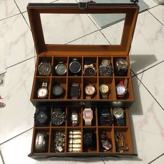 Box Jam / Organize Watchs