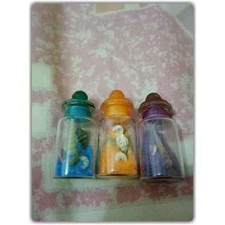 Botol pasir kerang IDR 10.000/set