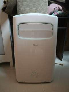 Midea 1.5hp ionizer portable aircon