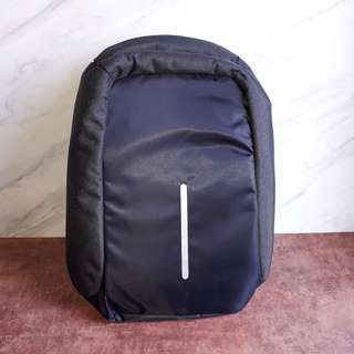 Antitheft Bag Backpack Ransel Anti Maling Dark Grey - Ledo