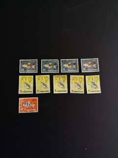 B6   Singapore Stamps