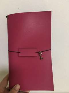 Leather Traveller's Notebook Binder