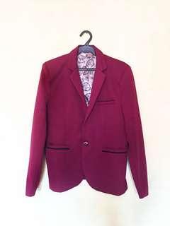 Red Coat Suit
