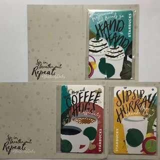 🚚 Starbucks EZ-Link Cards[LIMITED EDITION]