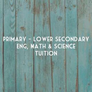 Affordable Tuition for Pri-Lower Sec (West)