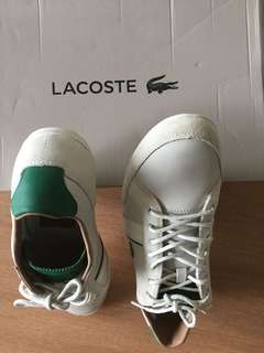 Lacoste - new all leather men's shoes size 44