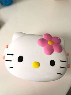 Hello Kitty Tupperware Lunch Box