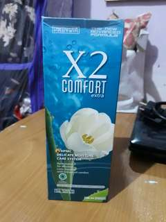 Air pencuci Softlens X2 comfort extra 500ml exp aug 2020