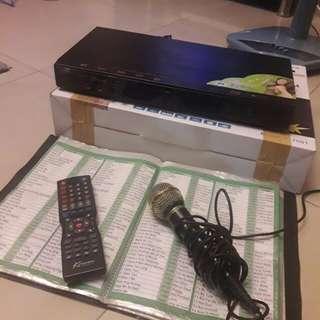 Karaoke Videoke Set