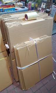 現成紙箱 搬家搬屋紙皮箱紙箱批發 訂做 carton box