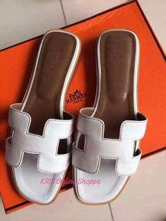 Hermes Slip On Sandals*Authentic