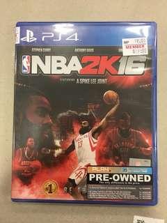 Playstation 4 NBA2K16 (Used)