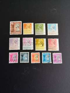 B7  Hong Kong stamps